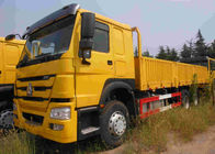 Low Consumption Heavy Cargo Truck ZZ1257N4647W For Logistics / Transportation