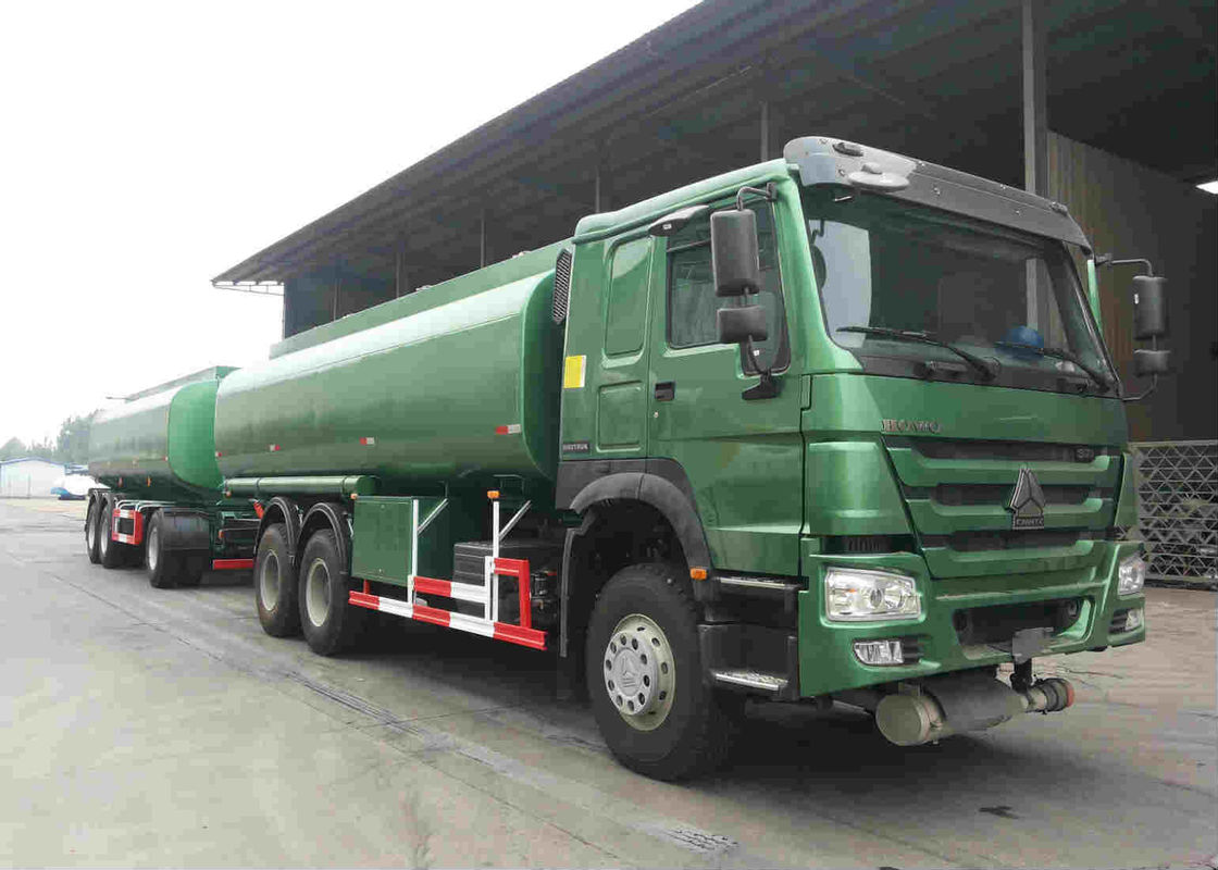 30000 Litres Oil Tank Trailer Color Customized For Petrol / Diesel / Jet Fuel