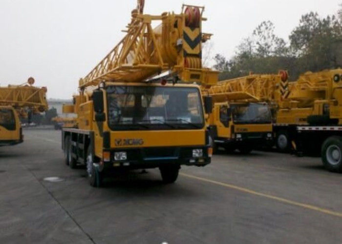 Yellow Color XCMG Truck Crane QY25K-Ⅱ 50 Ton Truck Mounted Mobile Crane